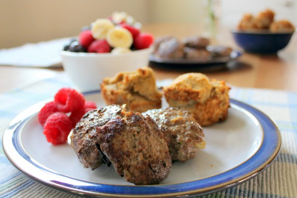 Beef breakfast sausage - gluten free grain free GAPS and SCD