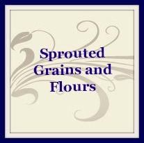 sprouted grains and flour