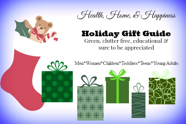 Healthy Clutter Free Gift Guide - Health Home and Happiness