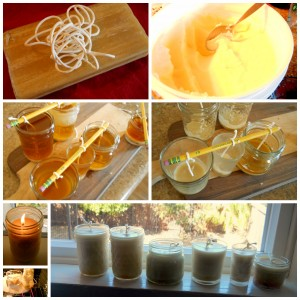Beeswax and Palm Candles, how to make