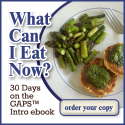 What Can I Eat Now GAPS Intro Ebook
