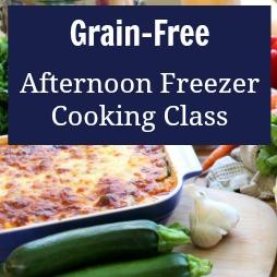 Freezer Cooking Class