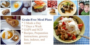 Grain Free Meal Plans