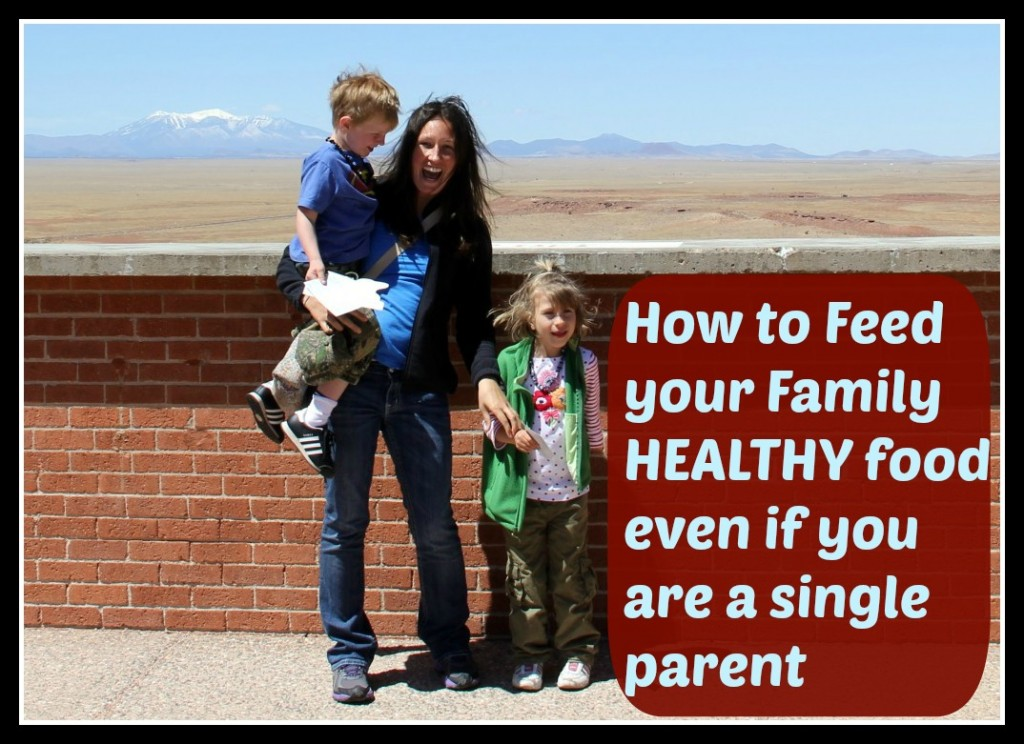 feeding your family healthy when you are a single mom
