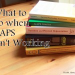 What to do when GAPS isn't working