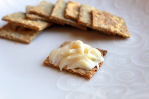 Brie on grain free crackers gaps diet