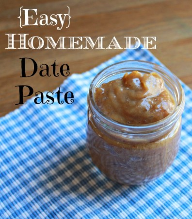 Easy Homemade Date Paste - from Health, Home & Happiness
