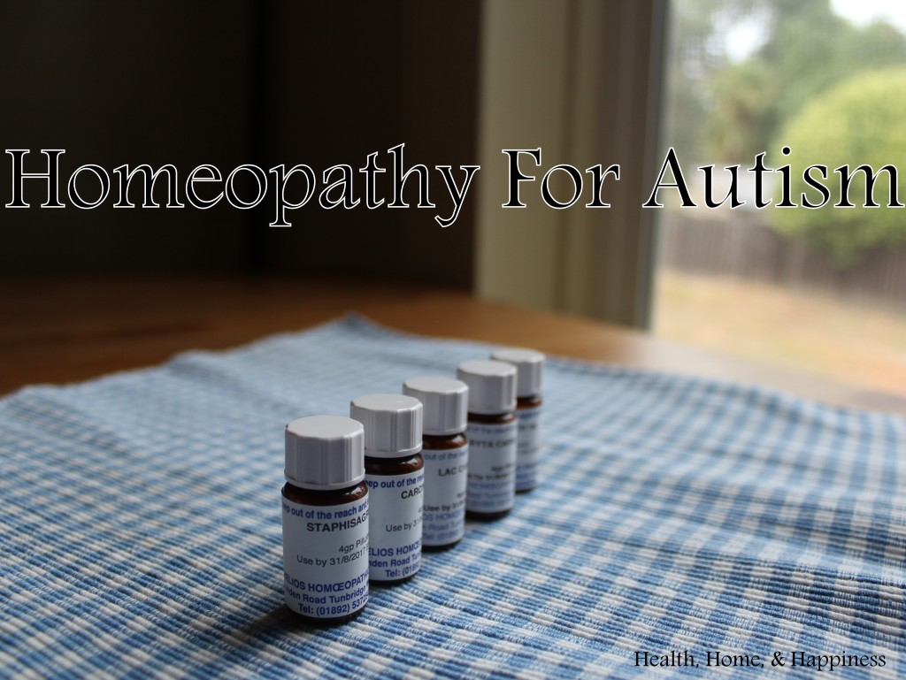 Homeopathic remedies for autism