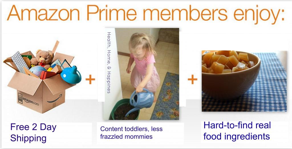 amazon prime real food