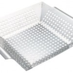 stainless steel barbique basket