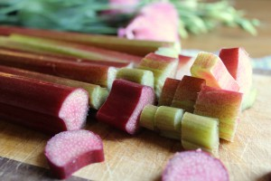 May - Rhubarb sauce