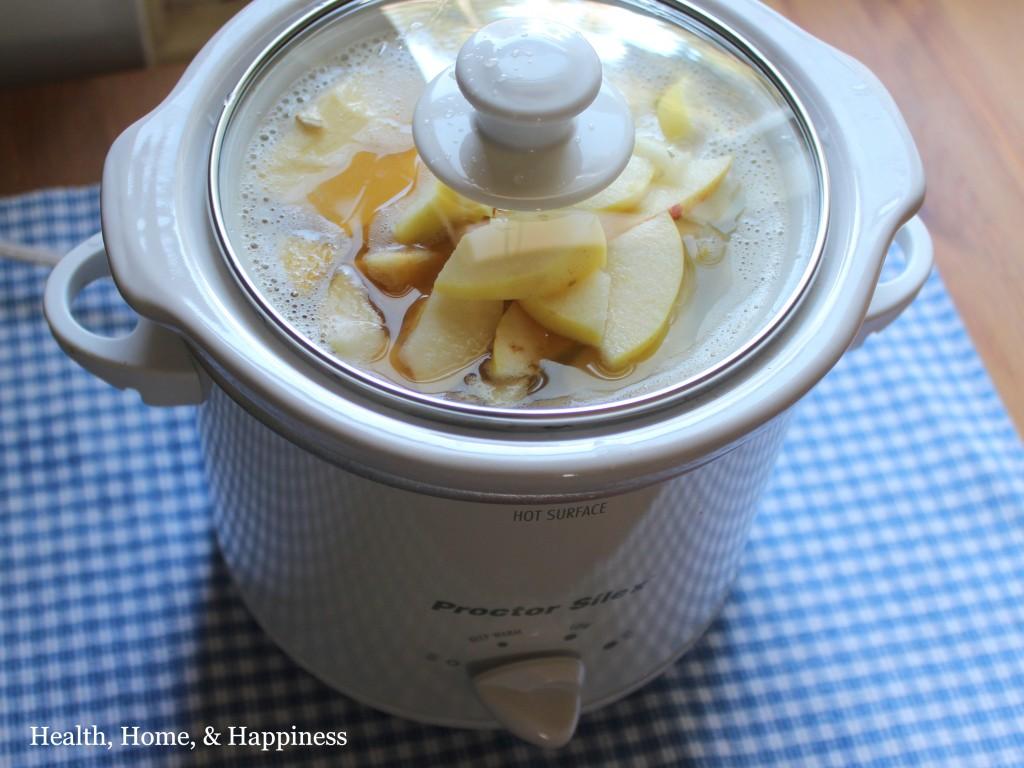 Overnight crockpot oatmeal gluten free