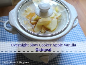 Overnight crockpot oatmeal gluten free graphic
