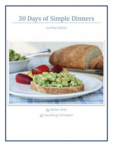 Simple Suppers cover