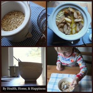 overnight oatmeal by Health Home & Happiness