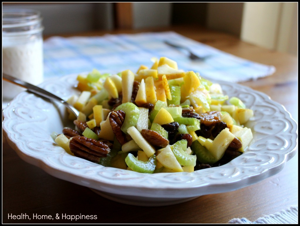 Apple Celery Salad from Grain-Free Meal Plans