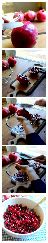 Pomegranate pic tutorial