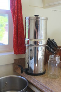 Berkey Filtered Water
