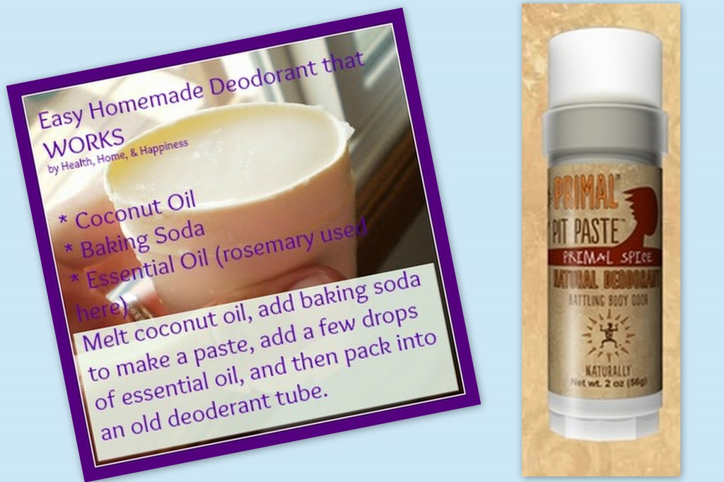 Make or buy natural deodorant that works