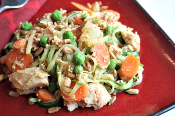 Thai Noodle Stir-Fry (GAPS and Paleo) from Health, Home & Happy