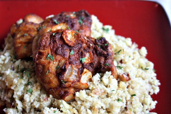Simple Chicken Tandoori with Curry Cauliflower Rice .jpg (1)