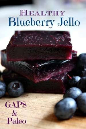 GAPS & Paleo Healthy Blueberry Jello - from Health, Home & Happy.jpg