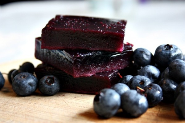 GAPS & Paleo Healthy Blueberry Jello! - from Health, Home & Happy.jpg