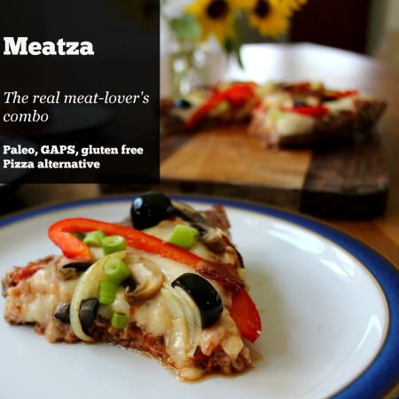 Meatza - the real Meat Lovers Combo Paleo - GAPS - SCD - Gluten free