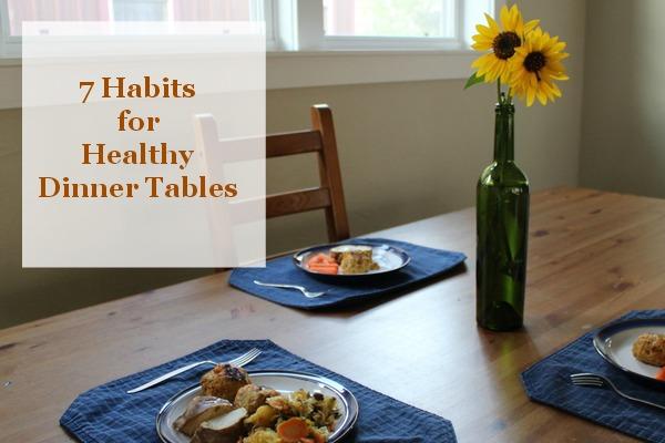 7 dinnertime habits