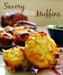 Savory Low Carb Onion Muffins with Coconut Flour - from Health, Home & Happy