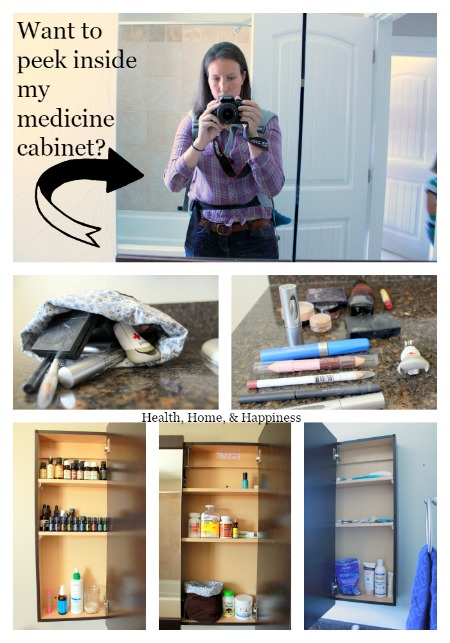 Take a peek inside the Health Home and Happiness medicine cabinet