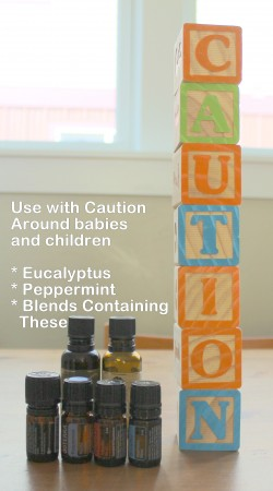 Use eucalyptus and peppermint with caution around children - read this