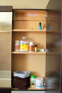 health home and happiness medicine cabinet middle