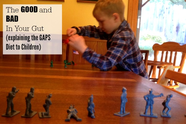 How to explain the GAPS diet to children