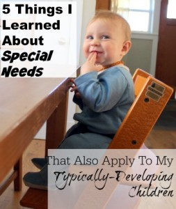 Lessons from Occupational Therapy
