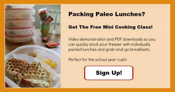 paleo lunches free signup