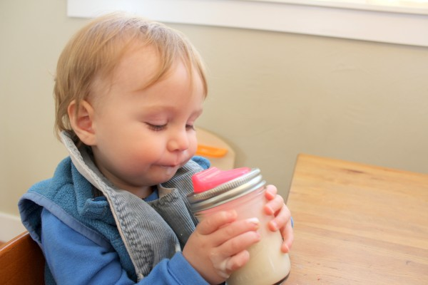 cuppow for baby and toddler smoothies