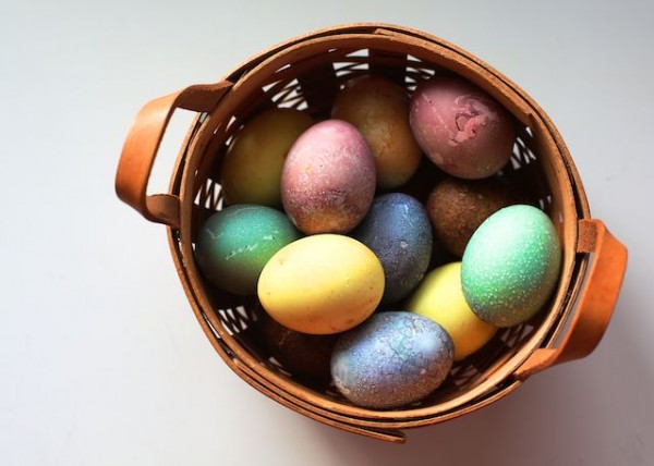 Easter Eggs Using Natural Food Dyes