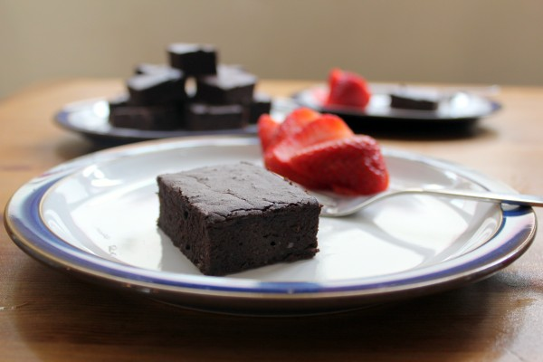 GAPS Legal Black Bean Brownies Grain and Refined Sugar Free