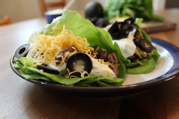 Replace the corn or flour tortilla with a couple lettuce leaves - boom, a fresh delicious grain-free remake of your favorite tacos!