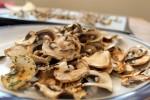 10 minute mushroom chips