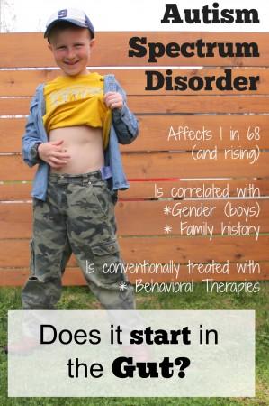 ASD starts in the gut