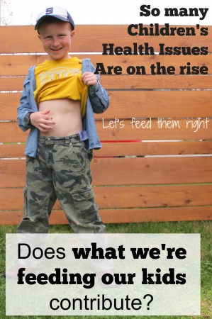 feeding our kids vs health issues