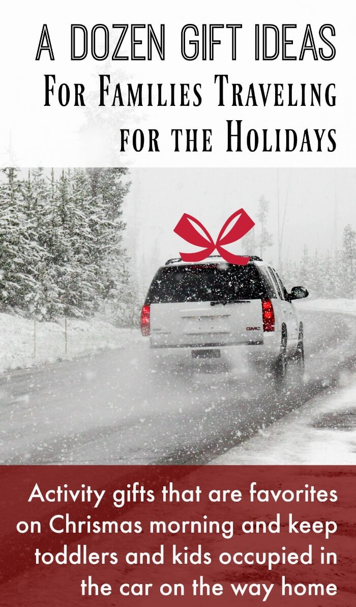 Gift ideas for holiday traveling families