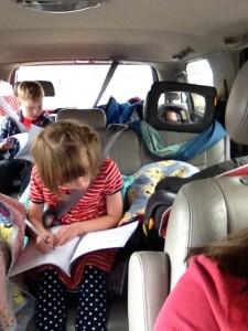 Road trip activities for 3 young children