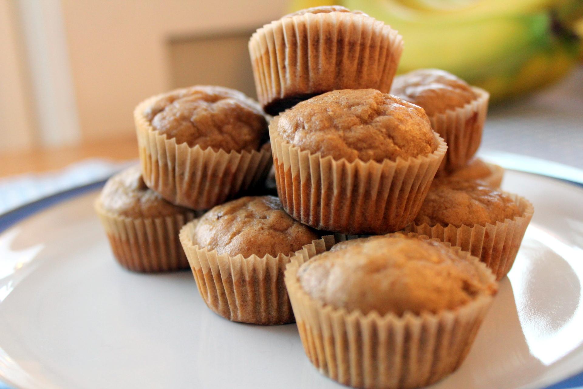 Peanut Butter Banana Mini Muffins (GAPS legal)