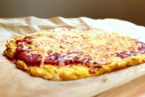 Turmeric is an ingredient in this grain-free pizza crust
