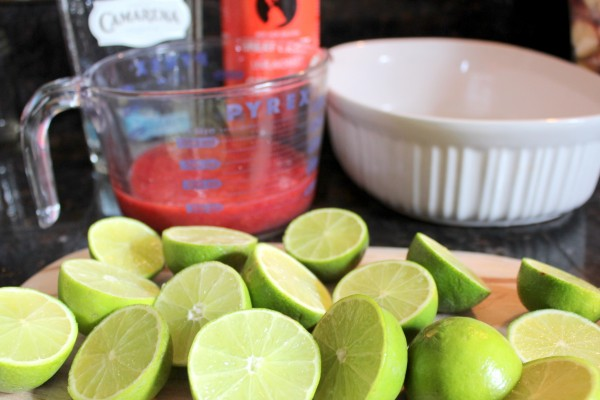 Strawberry Margarita Jello Shots Made With Real Fruit Health Home Happiness