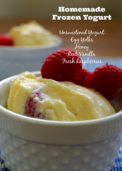 Incredibly Simple Raspberry-Vanilla Frozen Yogurt - Health, Home ...
