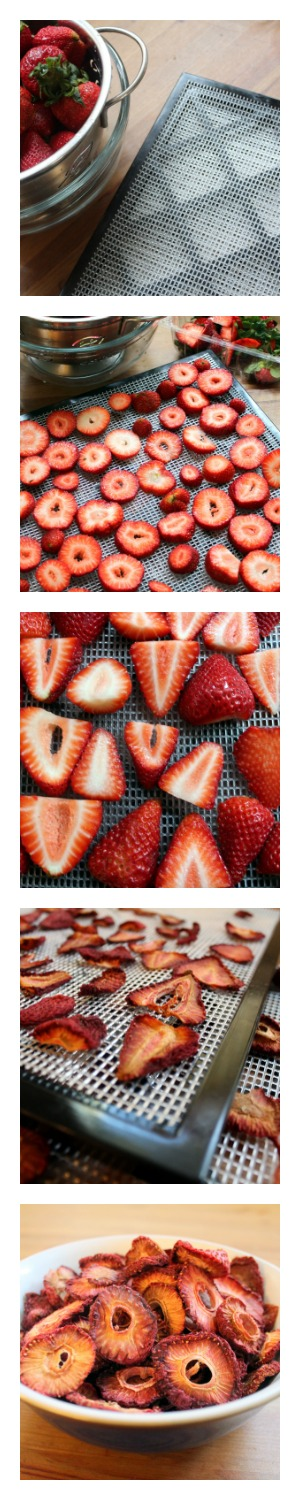 How to dry strawberries in 3 easy steps